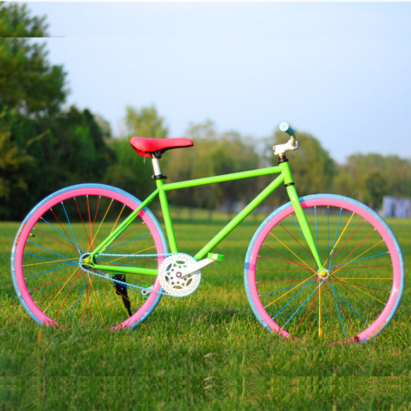 Hot Sale 26 Inch Colorful Fixed Gear Bikes Factory Wholesale Fashion  Aesthetic Bicycle Bicicleta Sport Road Bike For Woman|bike kuota|bike  carbonbike europe - AliExpress