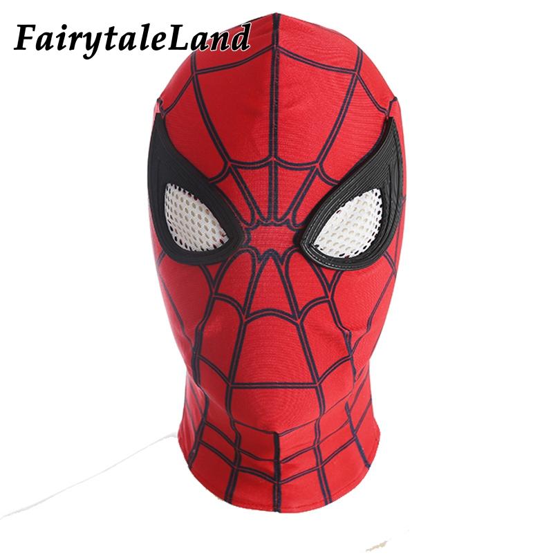 Spider man Maschera di Halloween accessori costume da Supereroe ... ef49624f4603
