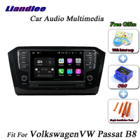Liandlee Car Android System For Volkswagen VW B8 PASSAT 2015 2018 Radio CD DVD Player GPS