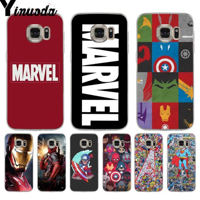 new concept 72b54 f0c0c US $2.59 |Yinuoda Deadpool iron Man Marvel Avengers Star Wars Phone Case  for samsung galaxy Note 9 S9 Plus S7 S6 edge plus S9 S8 plus-in  Half-wrapped ...