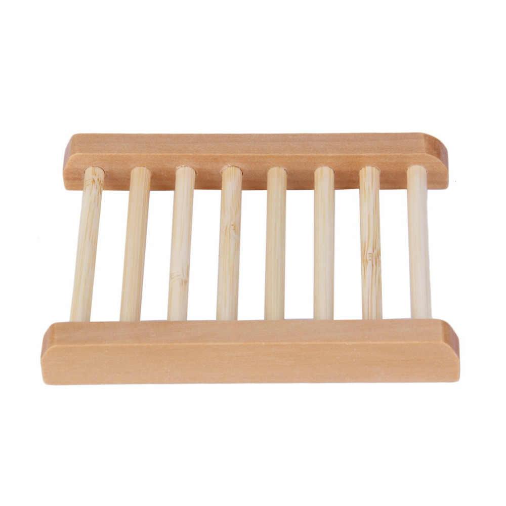 Naturalne drewno mydelniczka drewniana mydelniczka mydelniczka pudełko na talerze pojemnik do kąpieli pod prysznic łazienka