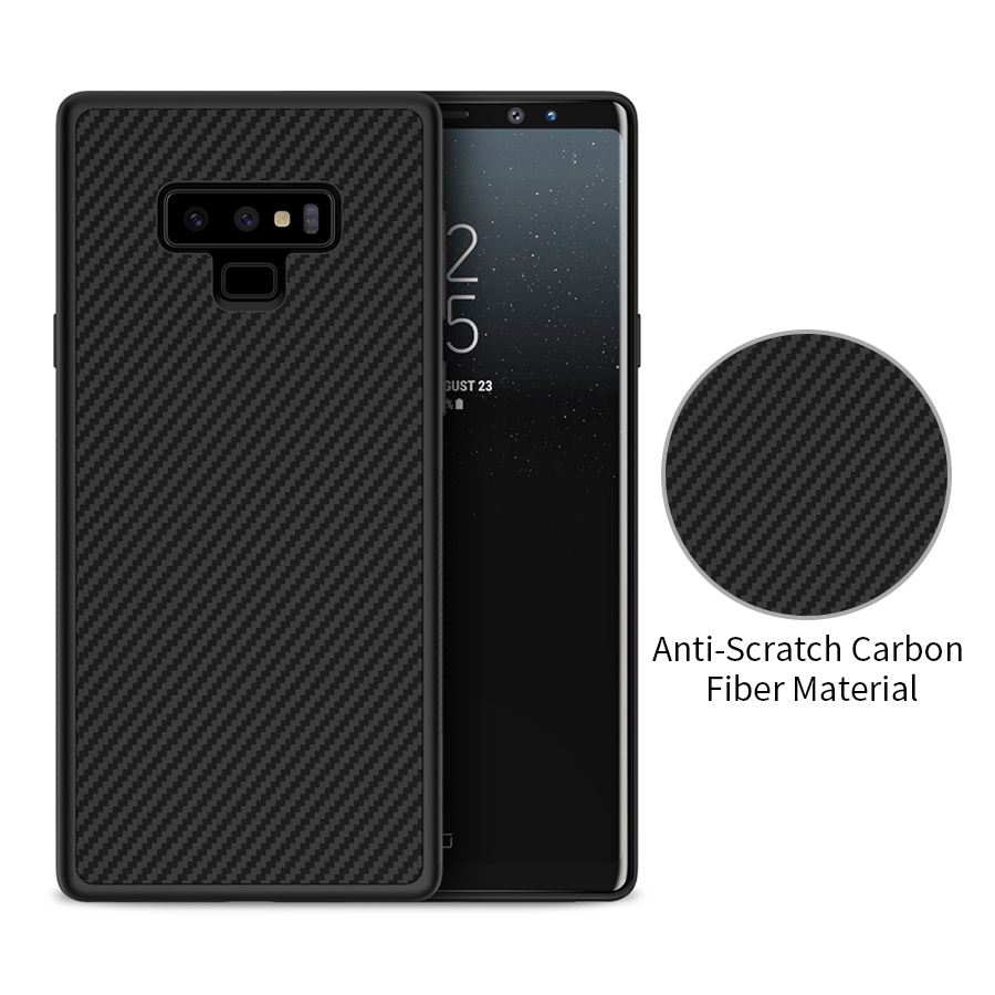 Nillkin Synthetic fiber Carbon PP Plastic Back Cover for samsung galaxy note 9 note9 case cover for samsung note 9 case 6.4 inch