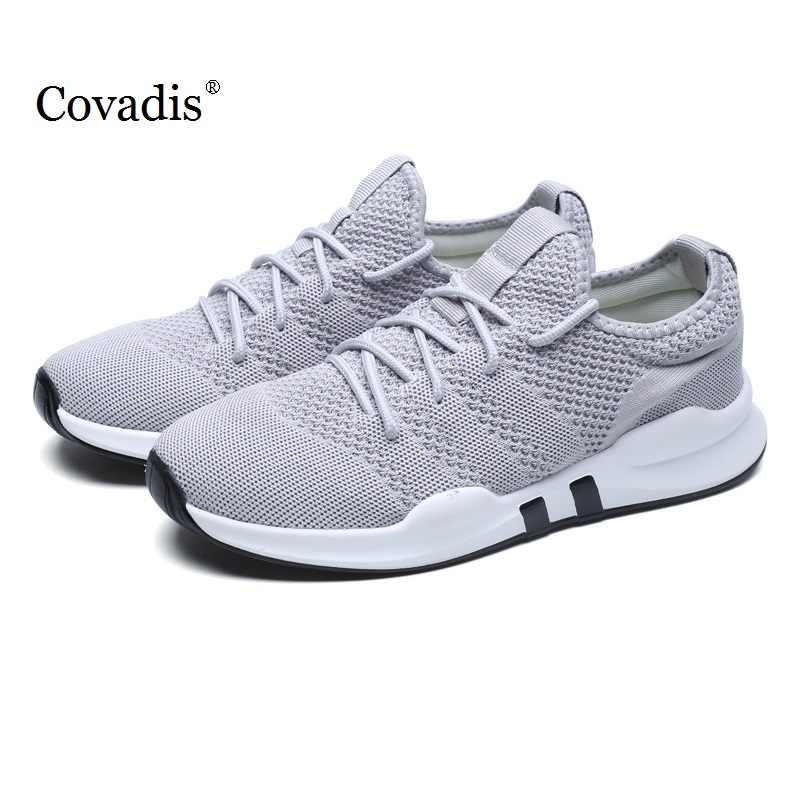 Модные уличные мужские белые кроссовки высокого качества Брендовые повседневные дышащие кроссовки с сеточкой мягкие Бег Теннис мужские летние туфли