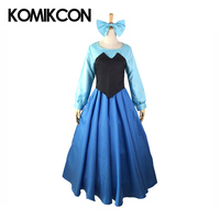 The Little Mermaid Cosplay Costumes Women Party Dress Dress Halloween Christmas Outfit Stage Performance Outwear Long Sleeve