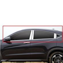 Door Handle Window Body Exterior Promote Auto Modified Automobile Modification Parts Accessories Mouldings 18 19 FOR Honda Vezel door body exterior promote automovil automobile modification decoration car styling accessories accessory for honda vezel