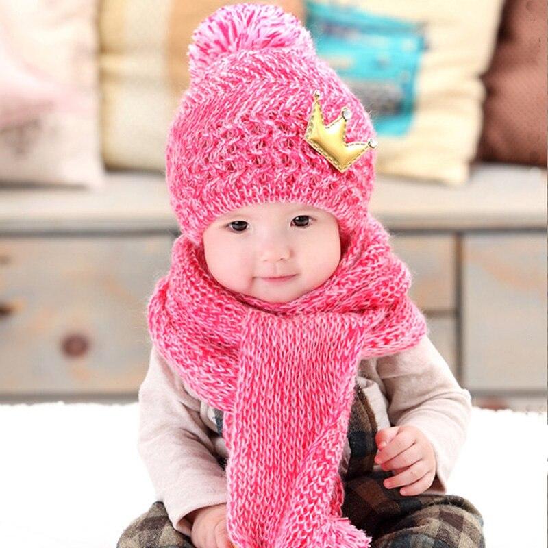 Haak Baby Hoed Sjaal Voor 5 Tot 36 Maanden Kind Jongens Meisjes