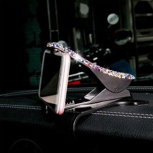 Image 3 - 360 תואר Ratotable רכב GPS סטנדר רכב ובית באמצעות טלפון מחזיק טלפון סלולרי נייד תמיכת GPS סטנדר עבור BMW אבזרים