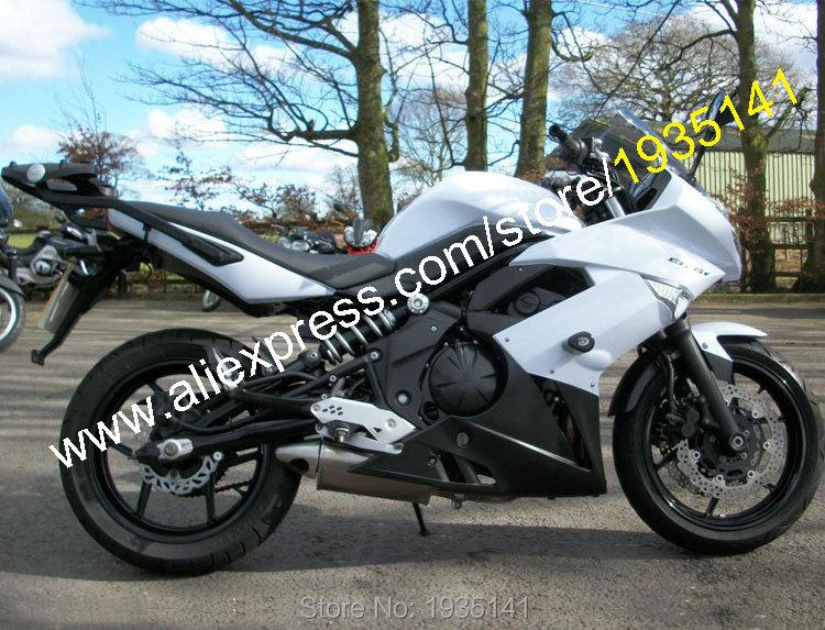 Горячие продаж,ABS обтекатель комплект для Кавасаки ниндзя 650р ER6F 2009 2010 2011 ЕР-6Ф 09 10 11 ЕР 6Ф белый черный мотоцикл обтекатель комплект