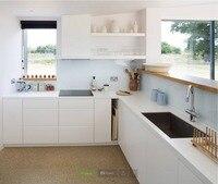 2017 Новый дизайн кухонная мебель Китай поставщиков Лидер продаж кухня мебель краской блестящий белый лак модульный блок