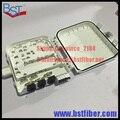8 Núcleos De Fibra Óptica Caixa De FTTH, Caixa de Material ABS, FTTH Caixa de Distribuição