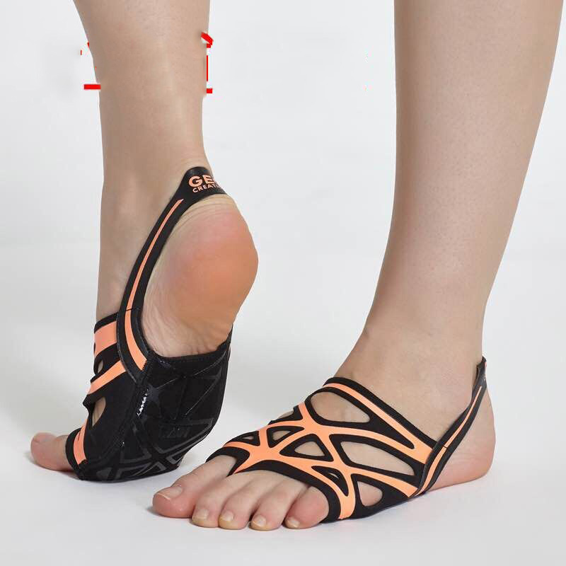 Envío Gratis zapatos de baile de Ballet para mujeres Yoga suela suave de silicona cómoda - 3