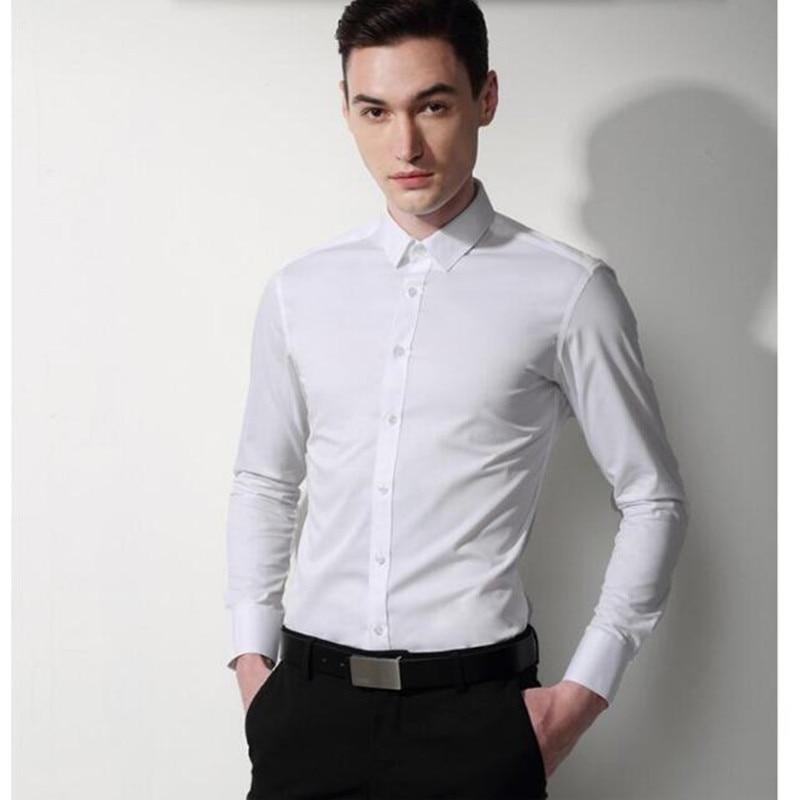 high quality men shirt men wedding shirt classic white Culti