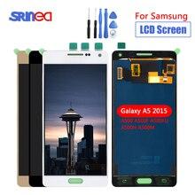 LCD do Samsunga Galaxy A5 2015 LCD A500 wyświetlacz dotykowy czujnik szkło Digitizer montaż może dostosować A500 A500F A500FU A500H + narzędzia