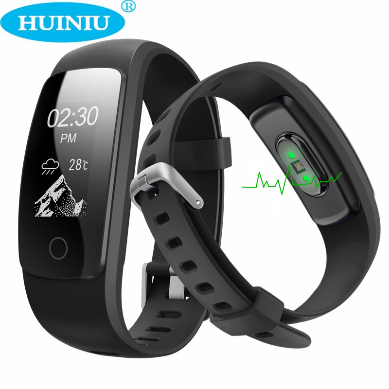 ID107 Plus HR Smart Bracelet GPS Heart Rate Sleep Monitor Pedometer Band Bluetooth 4 0 Fitness