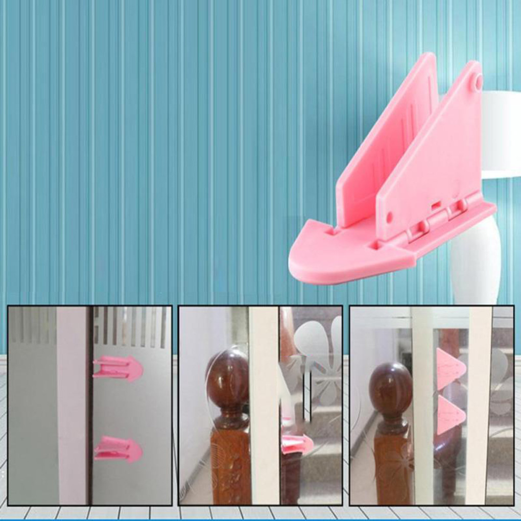 Portable Protecting Baby Safety Security Lock for Sliding Window Door Lock Latch
