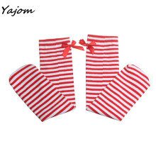 Baby Leg Warmers Cute One Pair Hot Sale Fashion Baby Kid Children Leg Warmers Bowknot Cotton Stockings for Girls Ja 14