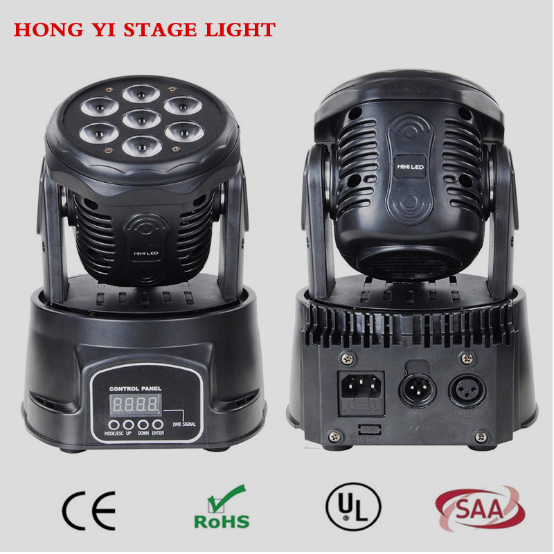 (2 pieces/lot) led dmx wash 7X12W mini moving head High Brightness led Moving Wash Light for dj dmx stage lighting effect 4pcs lot professional american dj led lighting led moving head light wash mini 7x12w rgbw dmx 7 12 channels