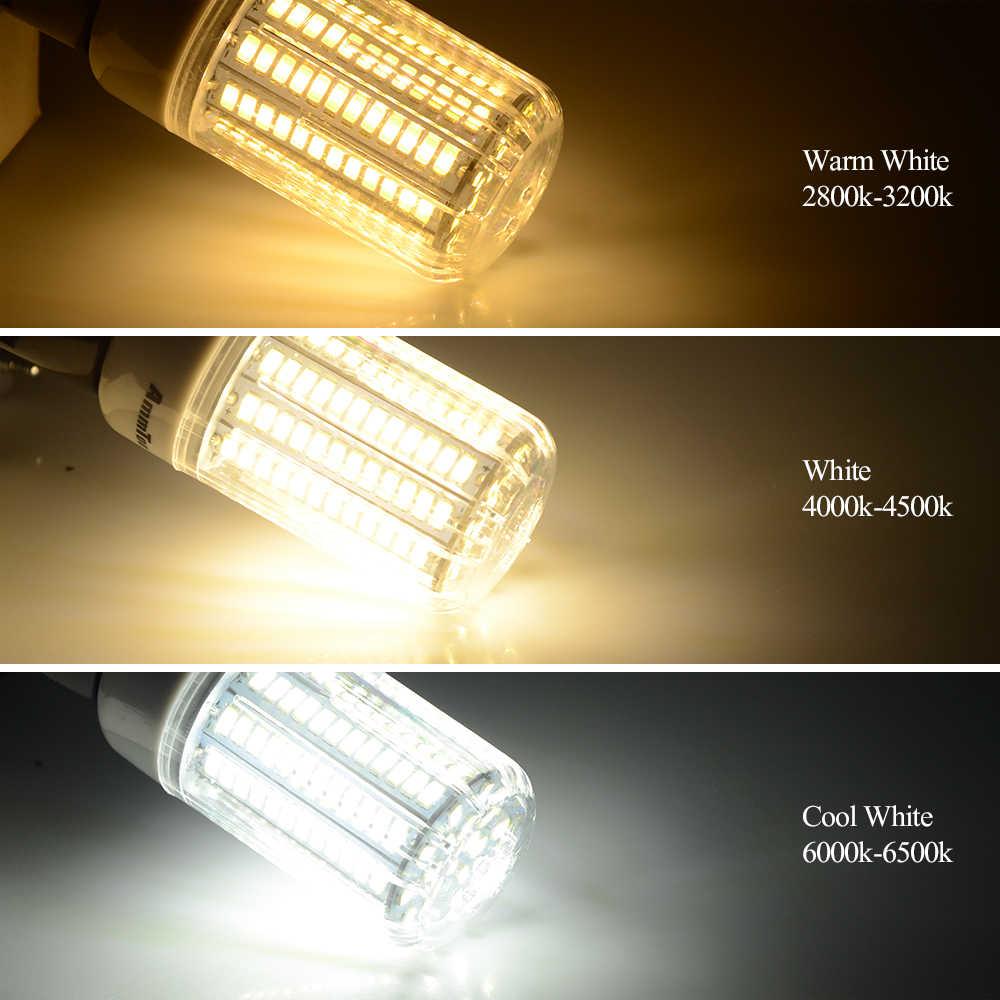 E27 / E14 5736 SMD Brighter Than 5730 5733 LED Corn Lamp 3W 5W 7W 9W 12W 15W Bulb Light 220V 230V 240V Three Light Color Choice