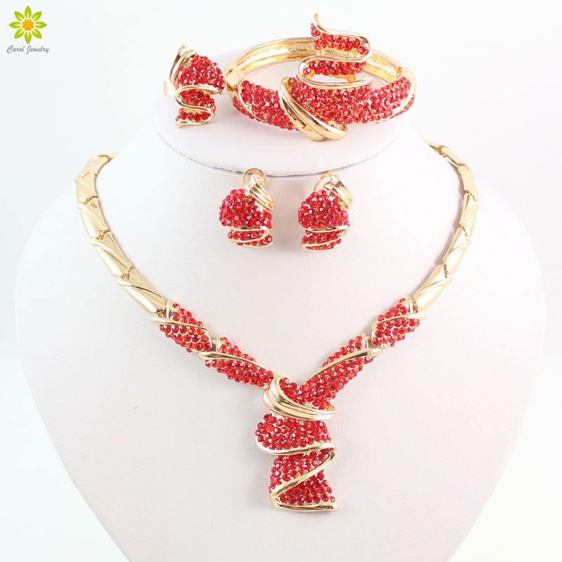 Afrika Afrika Set Perhiasan Pernikahan Perhiasan Pengantin Set Kualitas  Terbaik 6d260c52e3