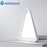 AKDSteel Creative Flip LED Table Lamp Angle Dimming Night Light USB Rechargeable Eye Protection Gravity Sensor