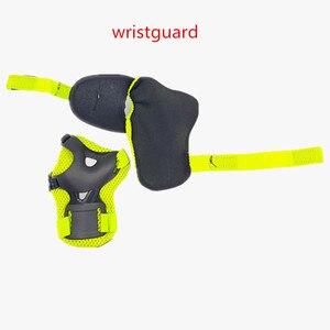 Image 4 - LANOVA 6 teile/satz schutzhülle patins Gesetzt Knie Pads Ellenbogen Pads Handgelenk Protector Schutz für Roller Radfahren Roller Skating