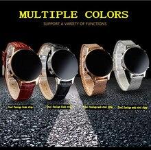 2016 Meistverkaufte Bluetooth 4 Smartwatch Verbinden Android ISO Smart Uhr Stahl Runde Fernbedienung MT360 reloj inteligente D360