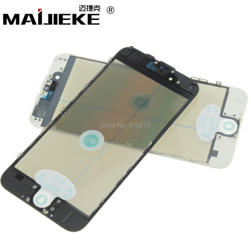 10PCS AAA 4 in 1 Cold Press For iPhone 6 6Plus Replacement LCD Front Touch Screen