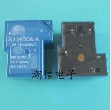 new%100 SLA-24VDC-SL-A 4 30A 24V hot new relay nf2e 24v nf2e 24vdc nf2e24v nf2e 24vdc dc24v 24v dip9 2pcs lot