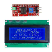 SunFounder IIC/I2C/TWI Serial 2004/20×4 LCD Module Shield for Arduino Uno/ Mega2560 Electronic DIY