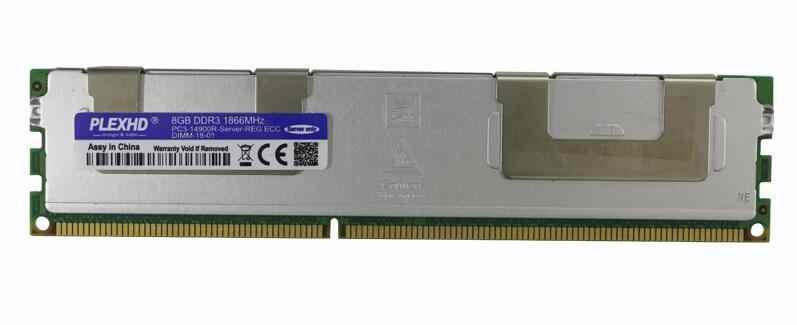 PLEXHD 16GB 8GB 4GB DDR3 PC3 1066Mhz 1333Mhz 1600Mhz 1866Mhz di memoria del Server X79 x58 2011 LGA2011 ECC REG 14900 12800 10600 MB di RAM