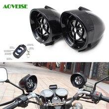 3.5 Pulgadas de La Motocicleta y Scooter Altavoces Anti-robo Sistema de Alarma Bluetooth Impermeable Altavoces de Audio Mp3 con Control Remoto