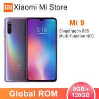 Global ROM Xiaomi Mi 9 8GB RAM 128GB ROM Mi9 Smartphone Snapdragon 855 Octa Core 48MP Triple Cameras 6.39