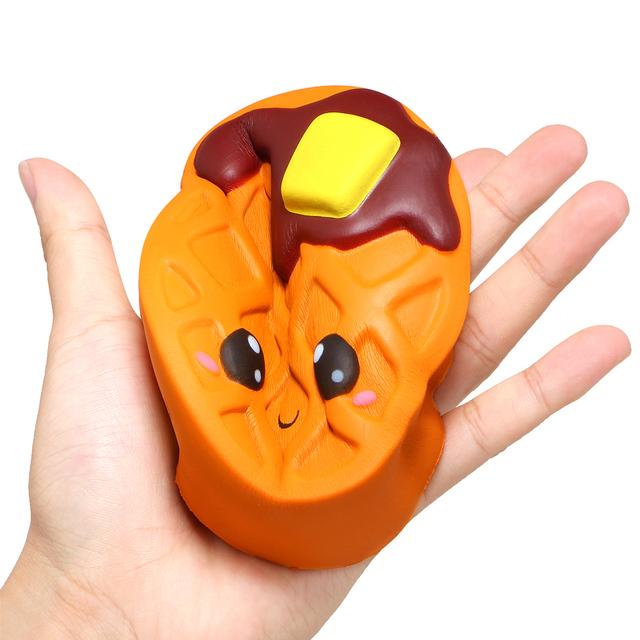 Kid's Kawaii Waffle Squishy Toy