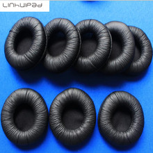 лучшая цена 4pcs 60mm Soft Foam Replacement Ear Pads Soft Sponge Durable Cushions Earpads for H8020 Headset Headphones