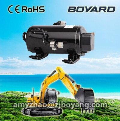24volt excavator compressor for off road vehicle tractor crane grab forklift aircon