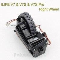 Original ILIFE V7S V7 Right wheel 1 pc supply from factory ILIFE V7 V7S Vacuum Cleaner Spare parts