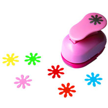 free shipping 1 inch daisy design eva foam punch paper punches scrapbooking cutter hole punch craft punching for DIY artwork