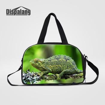 4c53f1d9757f Best Price Dispalang Lizard Print Travel Luggage Bag For Men Women Big Size  Folding Carry-on Duffle Bag Foldable Travel Crossbody Bags