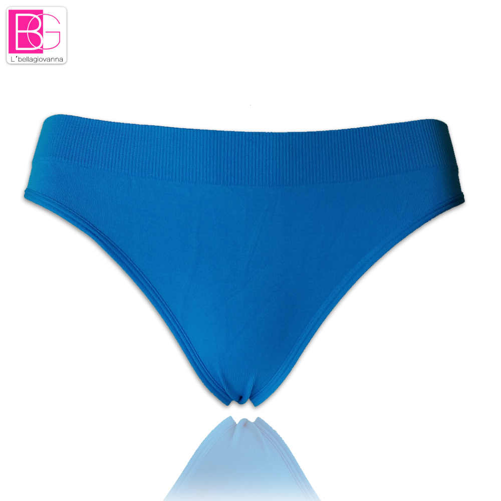 86a55829b1c2 L'bellagiovanna Active Seamless Women G-Strings Shorts Exercise Ladies  Panties Lingerie Underwear Bikini