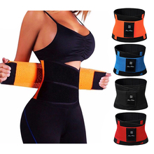 Sweat Neoprene Weight Loss Body Shaper Waist Trainer Cincher Corsets Best Workout Sauna Suit Thermo Slimming Belt for Women