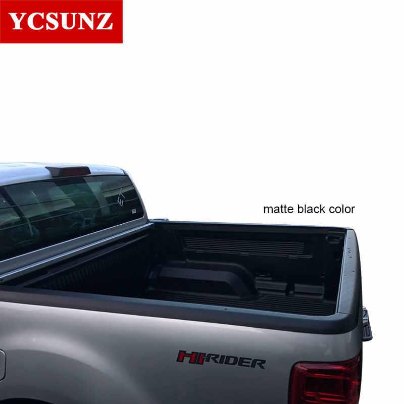 По сравнению с рельсовые защита на кроватку для Ford Ranger T6 T7 2012-2019 Nissan Navara Frontier NP300 2015-2019 VW Amarok 2009-2018 кабина с двумя рядами