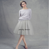 7 Layers Maxi Long Tulle Skirt American Apparel High Waist Tutu Skirts Womens Lolita Petticoat 2016