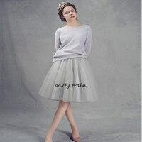 7 Layers Maxi Long Tulle Skirt American Apparel High Waist Tutu Skirts Womens Lolita Petticoat 2016