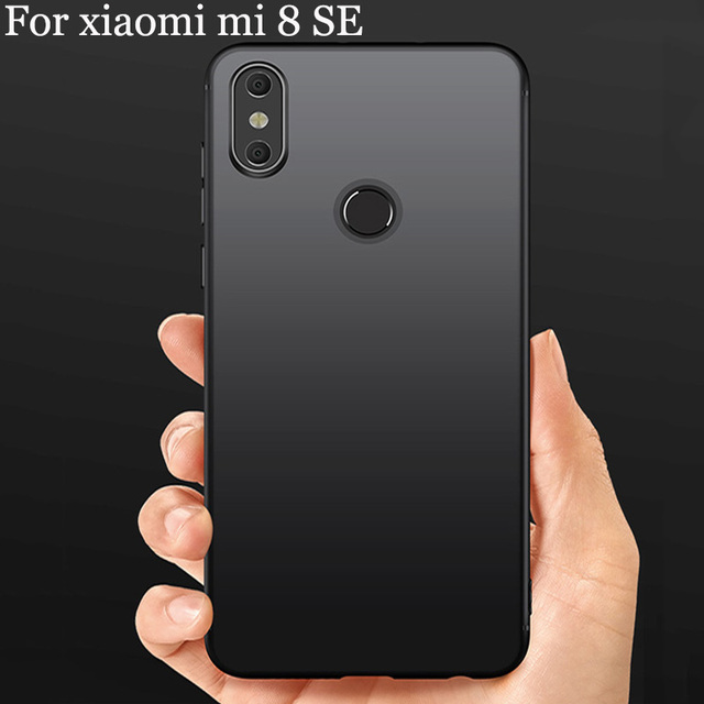 online retailer 866d4 ac83e US $16.87 |2pcs Soft cover Case For xiaomi mi 8SE case mi 8 SE back cover  Matte cover For xiaomi mi8 SE phone case ultra thin shell-in Phone Bumpers  ...