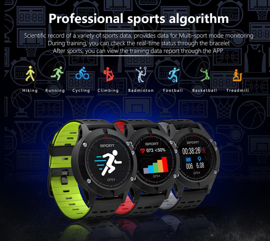 HTB17D2FXL5TBuNjSspmq6yDRVXaG - Smartwatch F5 GPS Heart Rate Monitoring Bluetooth Sport 2018 Model