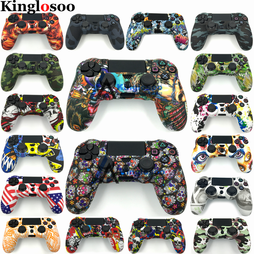Customize Special Soft Silicone Gel Guards Sleeve Skin Rubber Cover Case for Playstation 4 PS4 Pro