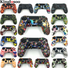 Customize Special Soft Silicone Gel Guards Sleeve Skin Rubber Cover Case for Playstation 4 PS4 Pro Slim Controller