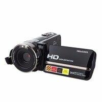 3.0 Digital Video Камера вращающийся ЖК дисплей Экран мини видеокамера 1080 P Full HD 24 Мпикс Поддержка Уход за кожей лица обнаружения