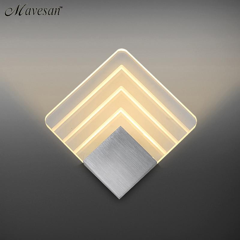 Lâmpadas de Parede interior iluminação Técnica : Banhado