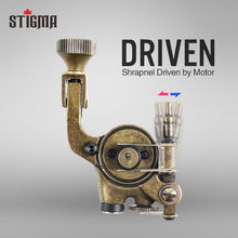 hot deal buy stigma 10000r/m rotary tattoo machine dc 5.5 interface for liner shader light weight strong motor tattoo body&art m682
